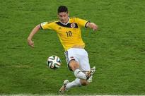 Real Madrid clinch Colombian star striker James Rodriguez