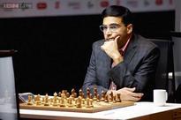 Viswanathan Anand draws with Giri in Shamkir Chess