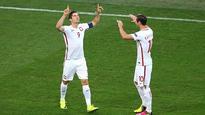 Euro 2016   Watch: Robert Lewandowski scores goal against Portugal