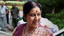 Swaraj Assures Help to 'Minorities' and Hindus in Pakistan