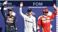 Mercedes to Mercedes: Nico Rosberg to start from pole position, Lewis Hamilton at back of grid at Belgian GP