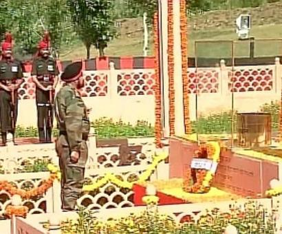Army chief to meet families of Kargil martyrs