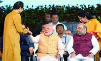 Shiv Sena joins swearing-in of Maharashtra new CM