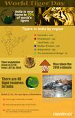 World Tiger Day infographic: India home to 70% of ...