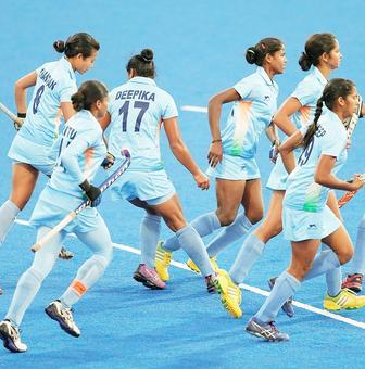 India beat Japan, clinch women's hockey bronze