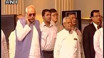Farooq Abdullah apologises for talking on phone during national anthem