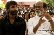 Dhanush's speaks about Rajinikanth's political entry