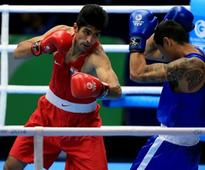 Five boxers including Vijender, Pinki reach semifinals of CWG 2014