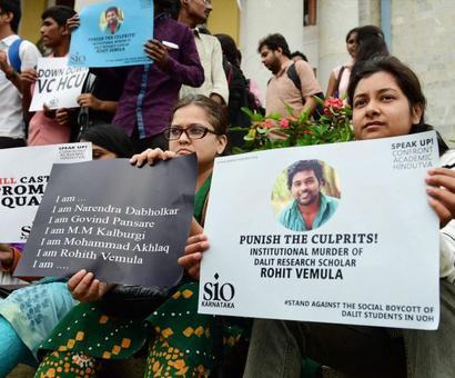 Vemula anniv: Hyderabad university set for 'shahadat din' showdown