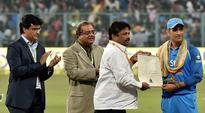 Eden names stand after Sourav Ganguly, MS Dhoni felicitated during 3rd ODI