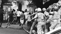 SFI Protest March against Hostel Raids Turns Violent