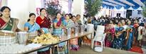 Bhog distribution starts at all pandals in city