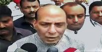 Congress targets government on Rajnath's son controversy