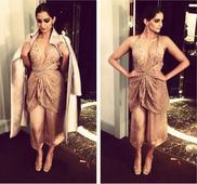 Sonam Kapoor enjoys front row seat at Armani Couture show