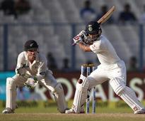 Live Score IND v NZ 2nd Test Day 2: Rain stops play, New Zealand four down
