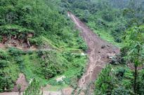 At least 458 families displaced by Pyuthan floods, landslides