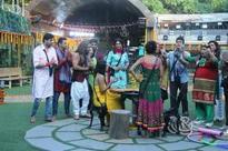 Bigg Boss 8: Bigg Boss housemates celebrate Diwali in style