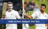 2nd Test: India vs New Zealand