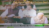 Prime Minister Narendra Modi Caught Sleeping During Parliament Session, #PMJetLag Becomes A National Issue