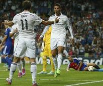 Ronaldo gets hat-trick, Rodriguez scores beauty as Real beat Deportivo 8-2