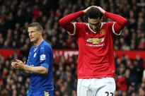 Manchester United's Fellaini and Leicester's Huth banned for elbow and hair