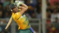 AB de Villiers hits ton on return