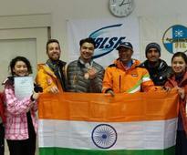 Shiva Keshavan Wins Silver at Asian Luge Championships
