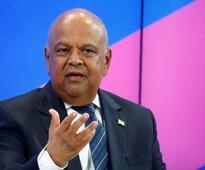 South Africa's Gordhan to court investors in Britain, U.S.