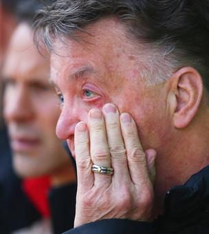 Everton were more motivated and aggressive than us: Van Gaal