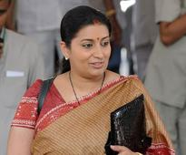 Smriti Irani's 'intellectuals meet' sees poor show in Agra