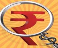 Rupee up 5 paise at 63.25