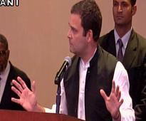 Divisive politics ruining India's reputation abroad: Rahul Gandhi in US