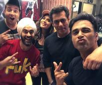 Fukras celebrate `Fukrey Returns` success with Bhai Salman Khan!