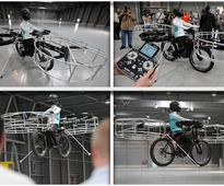 Coming Soon: Electric Bicycle That Can Fly