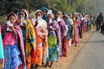Polling ends in Jharkhand, 53.6 per cent votes cast till 1pm