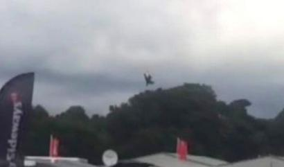 Pilot killed in display plane crash at England festival