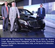 Mercedes-Maybach launched worldwide