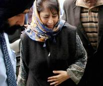 Kashmir govt ready to have dialogue with who ever is ready to reject violence: Mehbooba Mufti