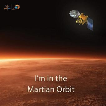 India's one giant leap: Mangalyaan enters Mars orbit