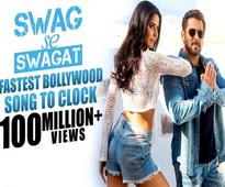 Swag Se Swagat shatters all records, gets Fastest 100 Million plus views for a Bollywood Song!