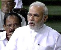 'India first' is my goverment's only religion: Modi