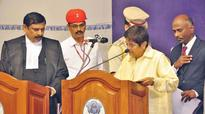 Ex- IPS officer Kiran Bedi takes charge as Puducherry Lt Governor