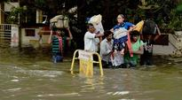 Army out for relief in rain-hit Chennai, air services suspended