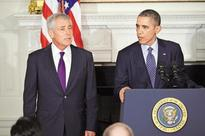 How Obama pushed out Hagel after reducing Pentagon's power
