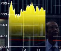 Asian shares nervous ahead of China data