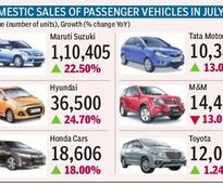New launches drive car sales in July