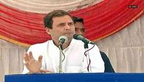 Rahul Gandhi claims Gujarat Govt 'remote-controlled' from Delhi