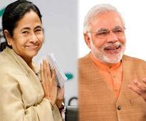 Bitter rivals Modi and Mamata meet, exchange pleasantries