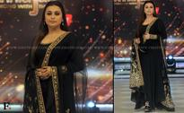 Photos: Rani Mukerji promotes Mardaani on Jhalak, bonds with Madhuri