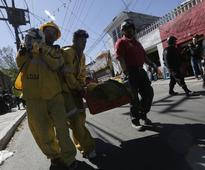 Babies Trapped under Rubble in Mexico Hospital Gas Blast